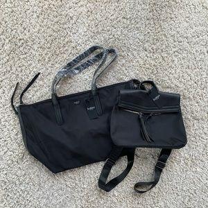 Botkier Bond Tote & Trigger Mini Backpack Nylon